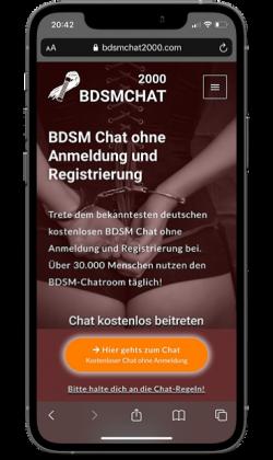 BDSMChat2000 Chat ohne Anmeldung
